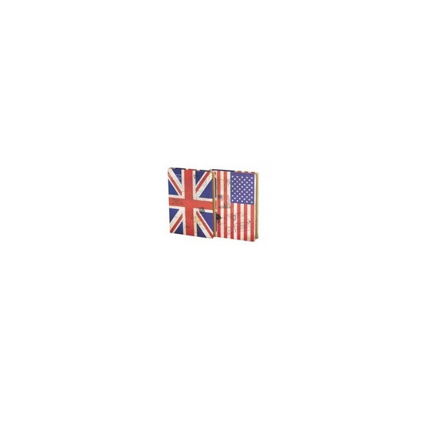 Блокнот JGHY-251051-7010 (14.6*20.9см) Британский /Американский флаг