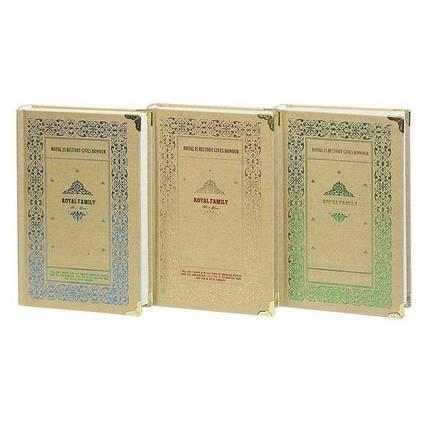 Блокнот JGYC-481121-1032 (10,5*16,9 cm ) 112 листов Royal Family, фото 2