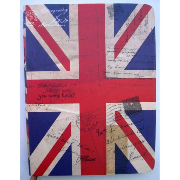 Блокнот JGYC-50801-1065 (10,2*14,5 cm ) 80 листов England