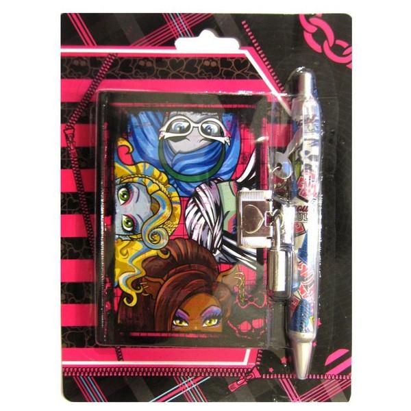 """Блокнот на замке в подарочной упаковке   3644-MS  """"MH"""" + ручка"""