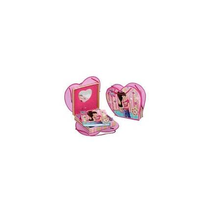 """Блокнот на замке в подарочной упаковке   D480225 (Сумочка) """"Девушка"""" + зеркальце+ музыка, фото 2"""