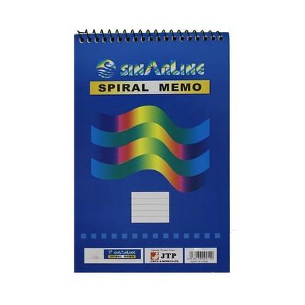 Блокнот на спирале  А-6 50 листов мягкая обложка № SP 08006/03512, фото 2
