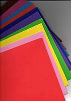 ФОАМИРАН № 7490-1,0 МИКС 10 цветов 1,0мм 20*30 (10 штук в упаковке)