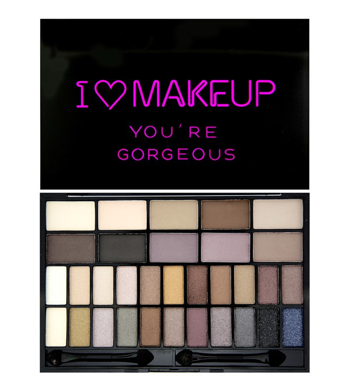 Makeup Revolution You're Gorgeous палитра теней 32 оттенка