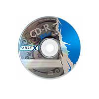 Диски CD-R Videx X-Blue   700Mb 52x bulk 10