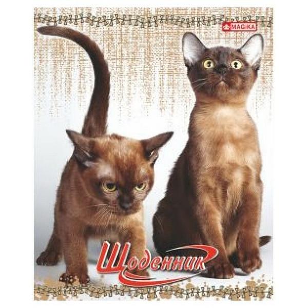 Щоденник «MAGIKA» ГЛІТТЕР 42 аркуша УВ-26_7198-2 ( Кошенята ) 162х198