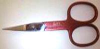 403 Ножиці червоні QPI   PROFESSIONAL