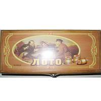 """Игра """"Лото """" настольная №G04007  (деревянная  коробка)"""