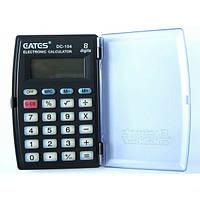 """Калькулятор """"EATES"""" DC-104 (8 разрядный, с крышк.1 питание)"""