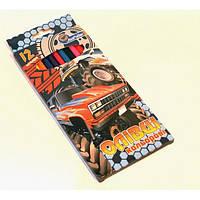 """Цветные карандаши пластиковые 12 цветов   № 1051J-12 """"Машины монстры"""" в картонной упаковке европейский стандарт (уп6\240)"""