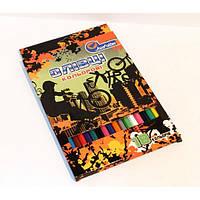 """Цветные карандаши пластиковые 18 цветов   № 1051F-18 """"Extreme"""" в картонной упаковке европейский стандарт (8/160)"""