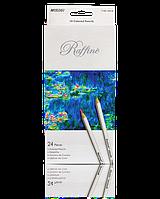 """Цветные карандаши Raffine 24 цвета №7100-24CB """"MARCO"""" (метализированные) (уп6\120)"""