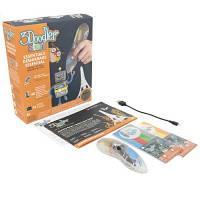3D-ручка 3Doodler Start для детского творчества - КРЕАТИВ (48 стержней, прозрачная)