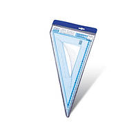 Треугольник пластиковый 30см-60* №SX-0015
