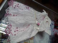 Платье детское белое Королева р.68 -80см