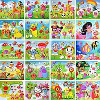 Поделка для детского творчества №ZH01-20-1 маленькая поролон  (19*16)