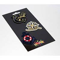 """Наклейки-термо на текстиль 8407 """"Якорь"""" (180гр,15-20сек)"""
