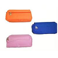 Пенал сумка  22531(3 отделения на молнии + 1 карман) на липучке 20.5*8.5*6.5