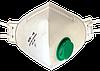 Респиратор БУК-1К,  FFP1 с клапаном (зеленый)