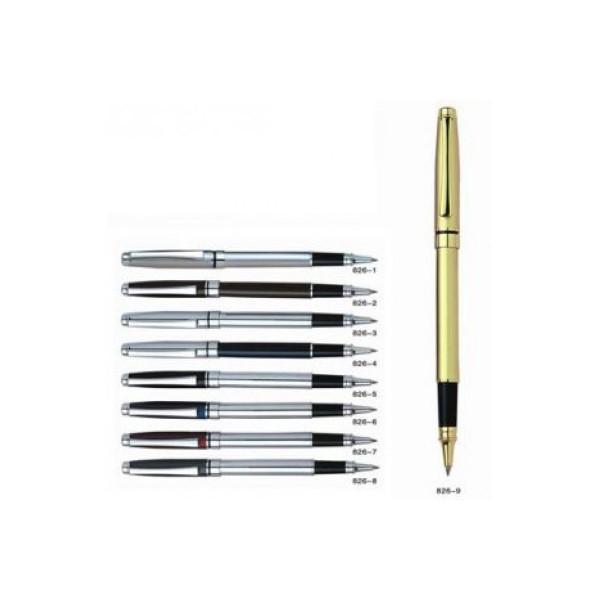 Ручка капиллярная, металлическая BAIXIN RP 826 ( цветной микс ) /12уп Бесплатная доставка НОВОЙ ПОЧТОЙ