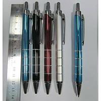 Ручка автоматическая шариковая, металлическая  BAIXIN  BP711 (цветной микс)