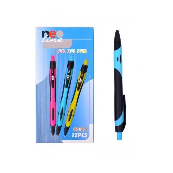 Гелевая ручка Neo Line 5651 (синяя) /12уп, 144бл, 1728ящ