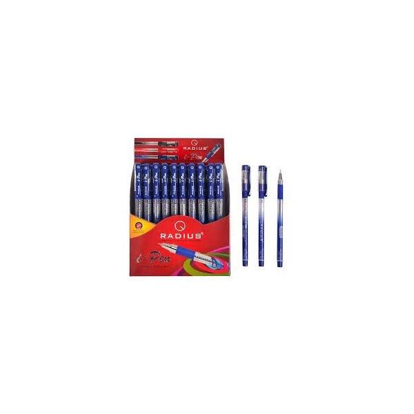 Ручка шариковая  Radius - I-Pen  (уп-50 ) синяя / с принтом
