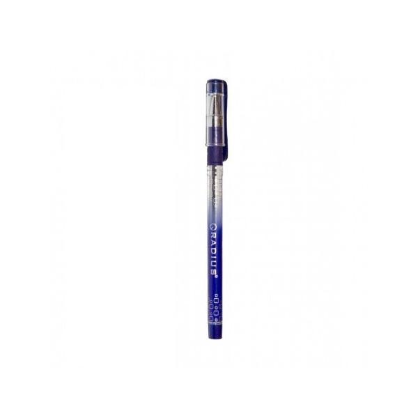 Ручка шариковая  Radius - I-Pen  (уп-12) фиолетовая / с принтом