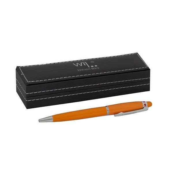 Ручка шариковая  №WB184 (в подарочном футляре) поворотка