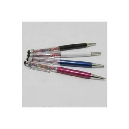 """Ручка шариковая _10906-1 """"Премиум """" с камнями Swarovski + стилус, фото 2"""