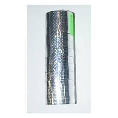"""Скотч голографичный 012-20-S """"Silver"""" (12мм*20m) 12 штук"""