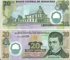 Гондурас / Honduras 20 lempiras 2006 Pick 93а UNC
