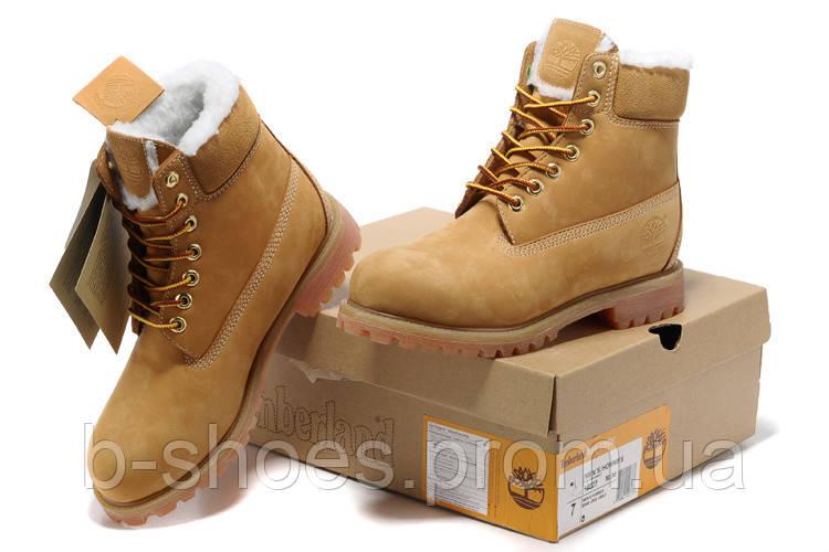Ботинки мужские Timberland  Classic 6-Inch Boot Rust