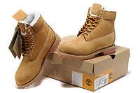 Ботинки мужcкие Timberland  Classic 6-Inch Boot Rust, фото 1