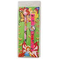 Часы детские наручные №AN-1949 Феи +ручка