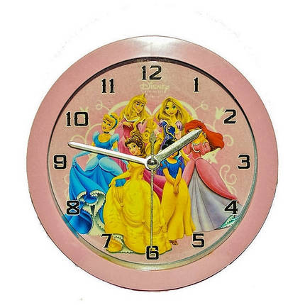 Часы-будильник №9924 Микс рисунки ( мультики), фото 2