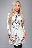 Платье женское модель №218-7,р.48-50 молочное