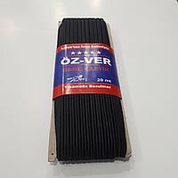 Резинка Сутажная 2-жилы OZ-VER 4мм. Черная