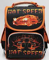 """Рюкзак ортопедический коробка """"Hot speed"""" ТМ Josef Otten, первоклассный ранец, школьный портфель"""