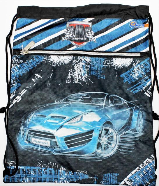 """Мешок для обуви со змейкой JO-18021 """"Sport car"""""""