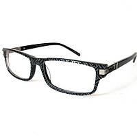 Компьютерные очки с рисунком, чёрно-серые, St. Louise