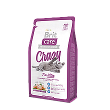 Корм для котят Brit Care Cat Crazy I'm Kitten 400 гр