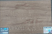 Vinilam 6601212-A Дуб Дортмунд 3 mm вінілова плитка клейова