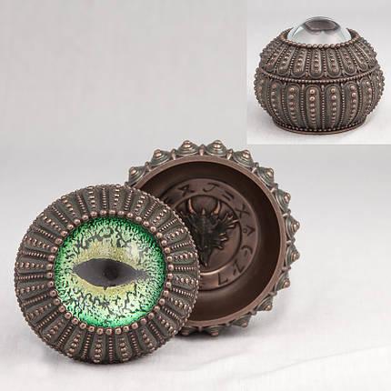 Шкатулка Глаз дракона Veronese Италия (10 см) 75558 A4, фото 2