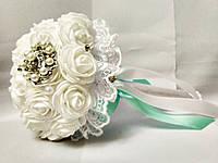 Свадебный букет-дублер для невесты Stile (Мятно-белый)
