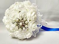 Свадебный букет-дублер для невесты Stile (Сине-белый)