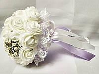 Свадебный букет-дублер для невесты Stile (Сиренево-белый)
