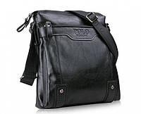 Мужская кожаная сумка через плече Polo Videng Casual (Два цвета), фото 1