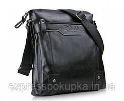 Мужская кожаная сумка через плече Polo Videng Casual (Два цвета)