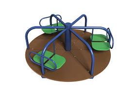 """Детская карусель """"Три Лепестка"""" для детей от 3 до 6 лет (р. D=1,6;Н=0,68 м) ТМ KIDIGO 12-5-03.1/3-6"""
